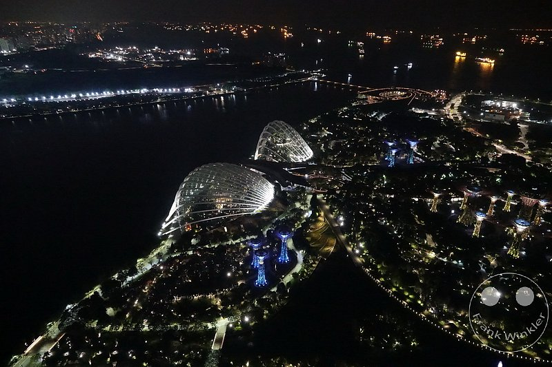 Singapur - Gardens by the Bay -  Flower Dome -  Cloud Forest